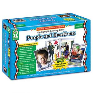 emotions and facial expressions learning cards