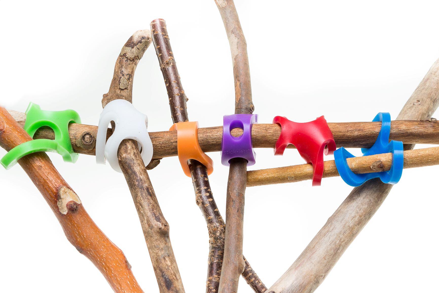 Stick-lets stem toy