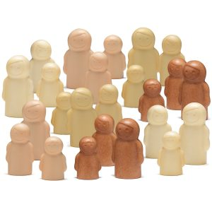stone peg people