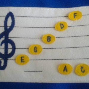 learn music felt board