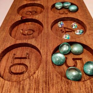 Wooden Ten Board