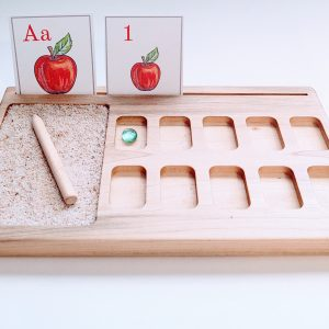 montessori ten frame sand tray