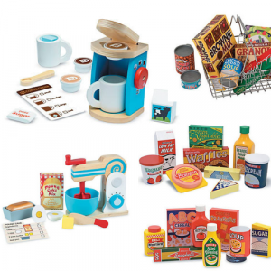 kitchen pretend play wooden toys