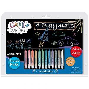 chalk placemat