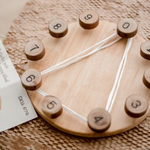 Steiner Inspired Math Wheel and Activity Cards
